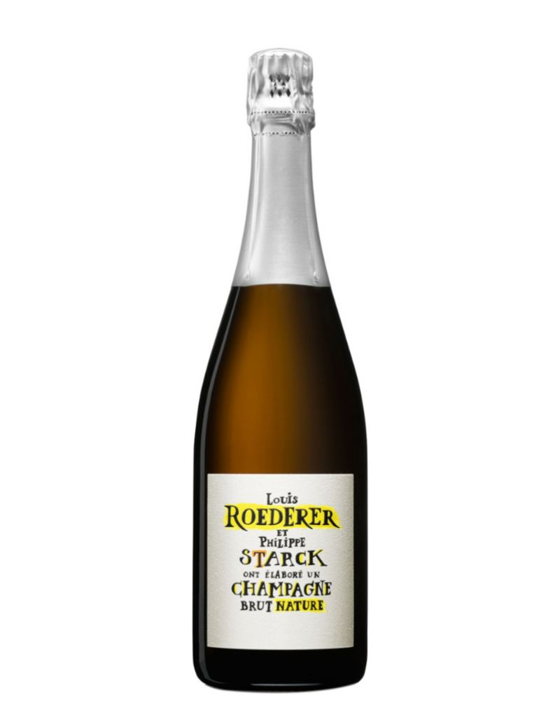 Louis Roederer - Champagne Brut Nature By Philippe Starck 2012 0,75 lt.