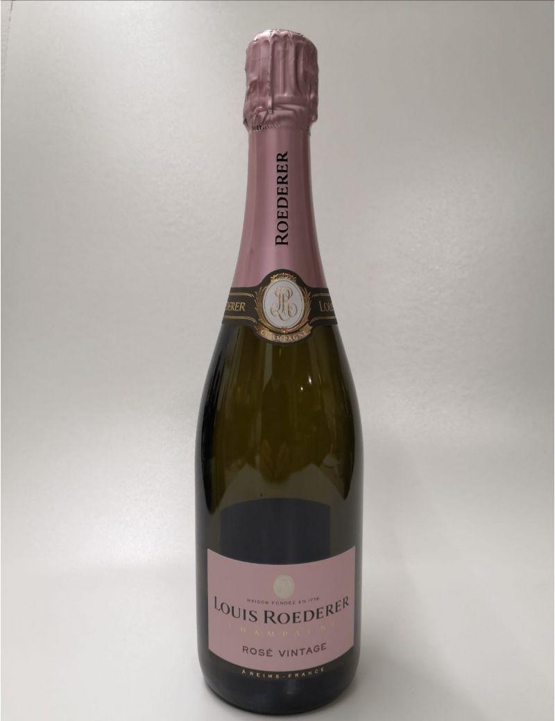 Bottiglia Factice VUOTA per Vetrina Champagne Louis Roederer Rosè Vintage 0,75 lt.