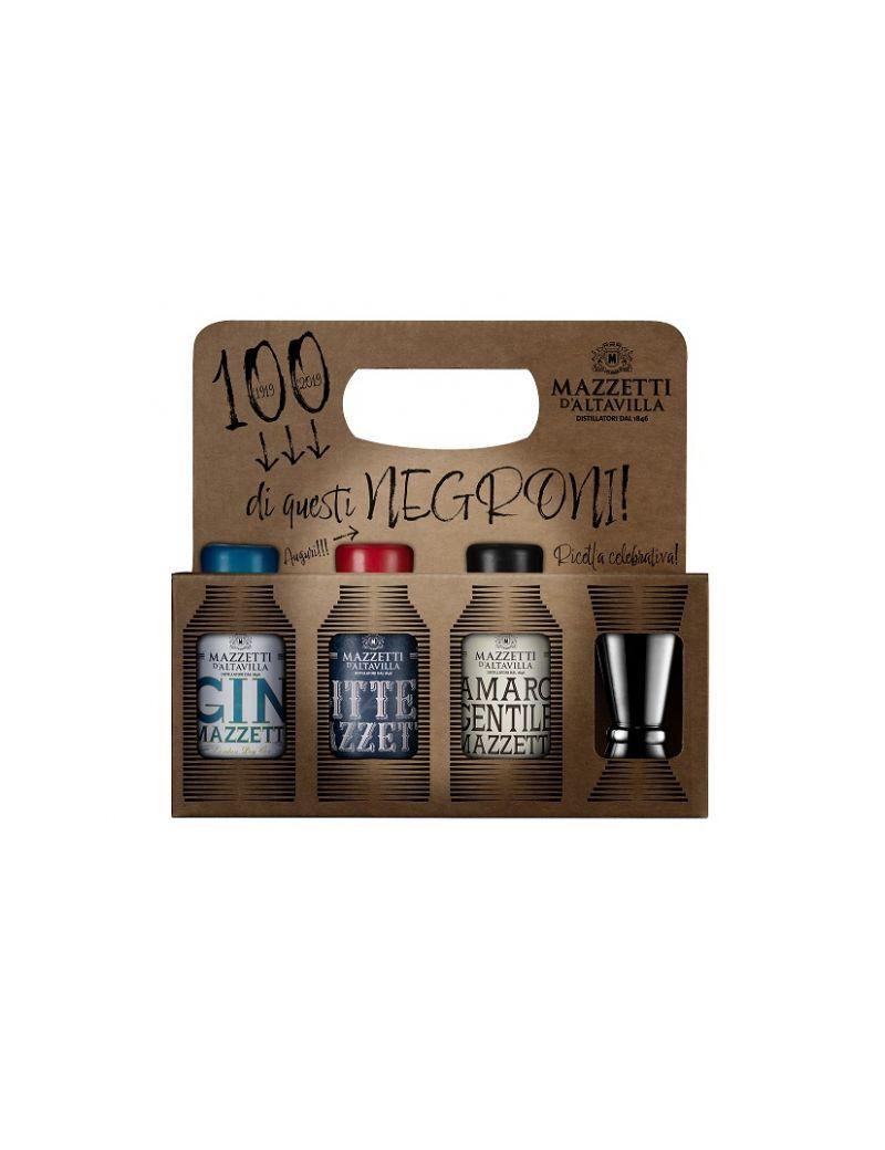 "Mazzetti d'Altavilla - Mini Kit ""100 di questi Negroni"" + Jigger 10 CL"
