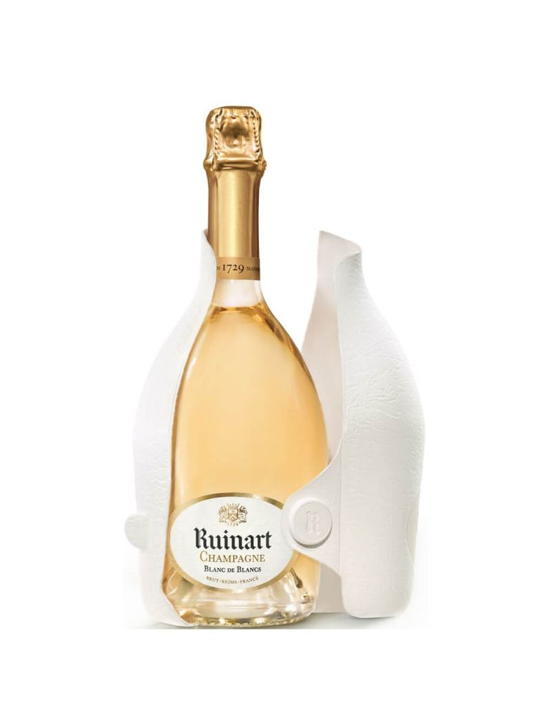 Ruinart - Champagne Blanc De Blancs + Coffret Second Skin 0,75 lt.