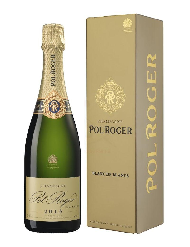 Pol Roger - Champagne Blanc de Blancs Millésime 2013 0,75 lt. + Box