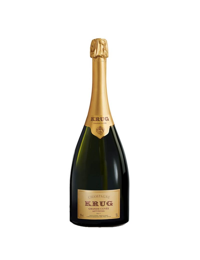 Krug - Champagne Grande Cuvee 166eme Edition Brut 1,5 lt. MAGNUM