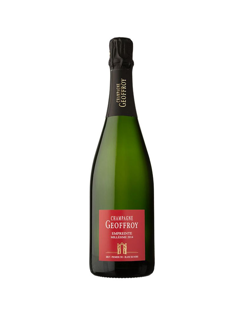 """Geoffroy - Champagne """"Empreinte"""" Blanc de Noirs Premier Cru 2014 Brut 0,75 lt."""