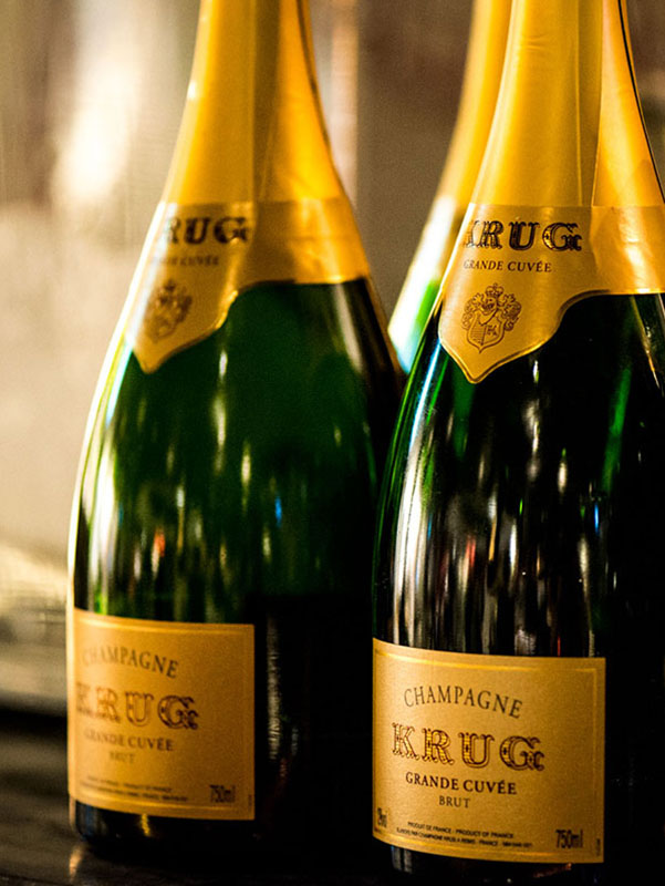 Krug bottle